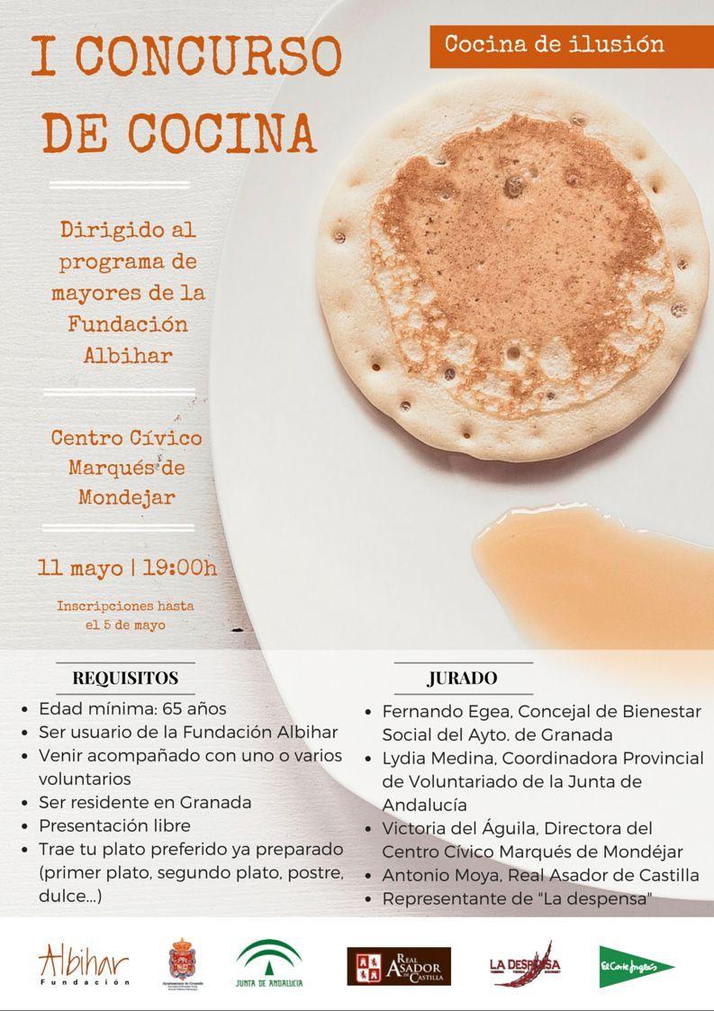 I concurso de cocina plataforma de voluntariado de granada - Concurso de cocina ...