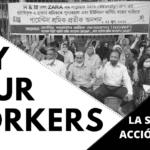 Campaña Ropa Limpia. Acción global #PAYYOURWORKERS