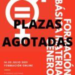 PLAZAS AGOTADAS!!! Nueva edición del Curso Online: Formación básica en materia de Género. ¡Abiertas inscripciones!