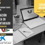 """Curso Online """"Formación básica en Voluntariado""""."""